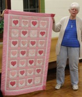 June Chichester - Baby quilt